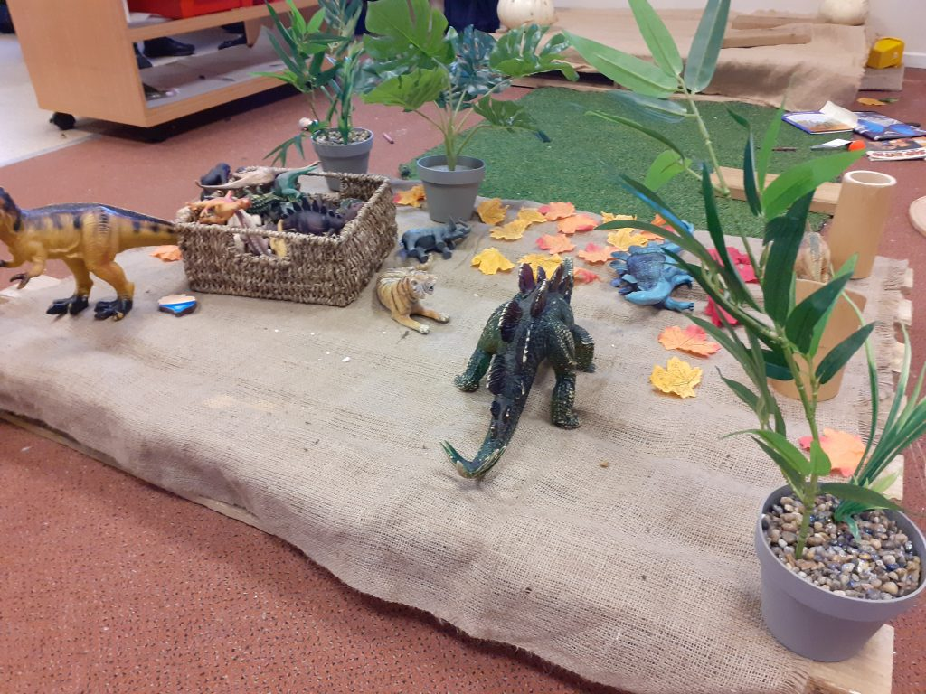 Dinosaur activity at Millway Nursery