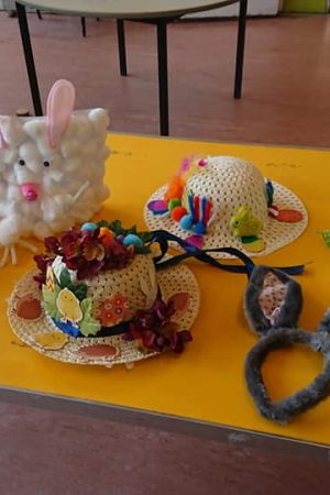 Leavesden easter bonnets